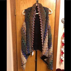 Women's Woven Vest - Multi Color